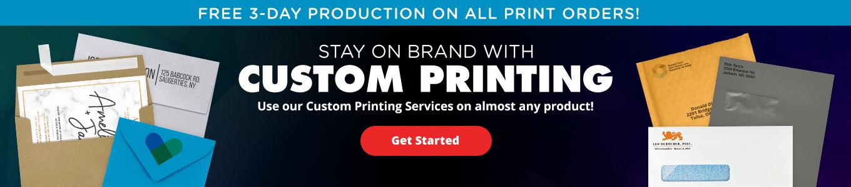 Custom Printing   Envelopes.com