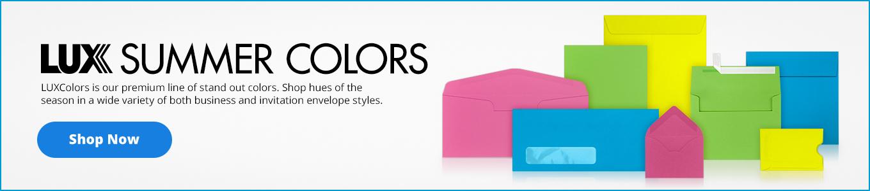 LUX Spring Colors   Envelopes.com