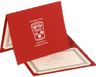 Customized Certificate Holders
