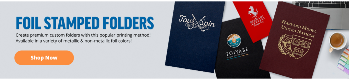 Foil Stamp Folders | Folders.com