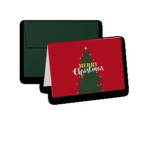 Folded Holiday Card Sets | Envelopes.com