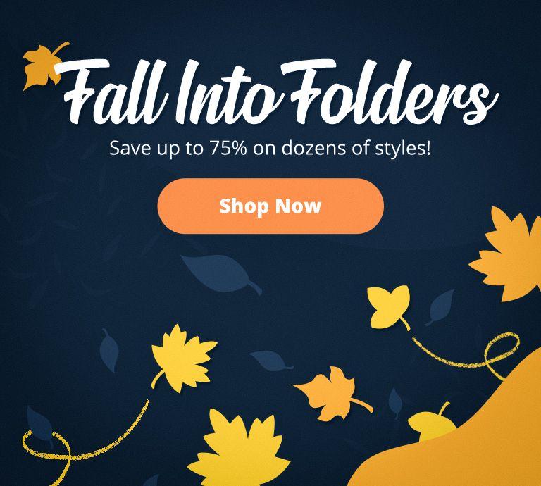 Fall Clearance | Folders.com