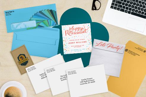 Custom Printing Service | Envelopes.com