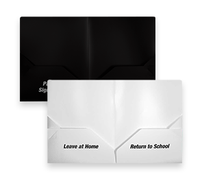 9 x 11 3/4 Preprinted Poly Folders   Envelopes.com