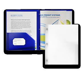 9 1/2 x 11 3/4 Poly Folders | Envelopes.com