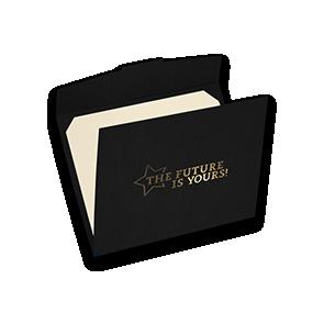 Pre-Printed Certificate Holders