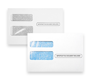W-2/1099 Double Window Envelopes   Envelopes.com