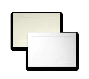 Embossed Flat Cards | Envelopes.com