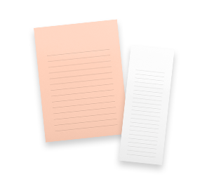 Ruled & Blank Notepads | Envelopes.com